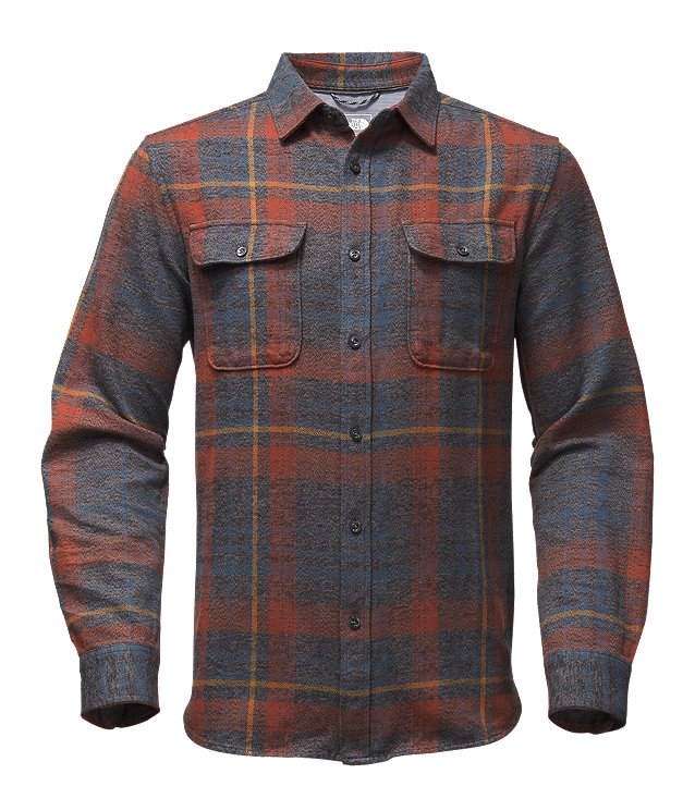 MEN'S LONG-SLEEVE ARROYO FLANNEL