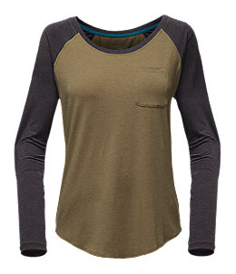 WOMEN'S LONG-SLEEVE IN A FLASH RAGLAN TEE