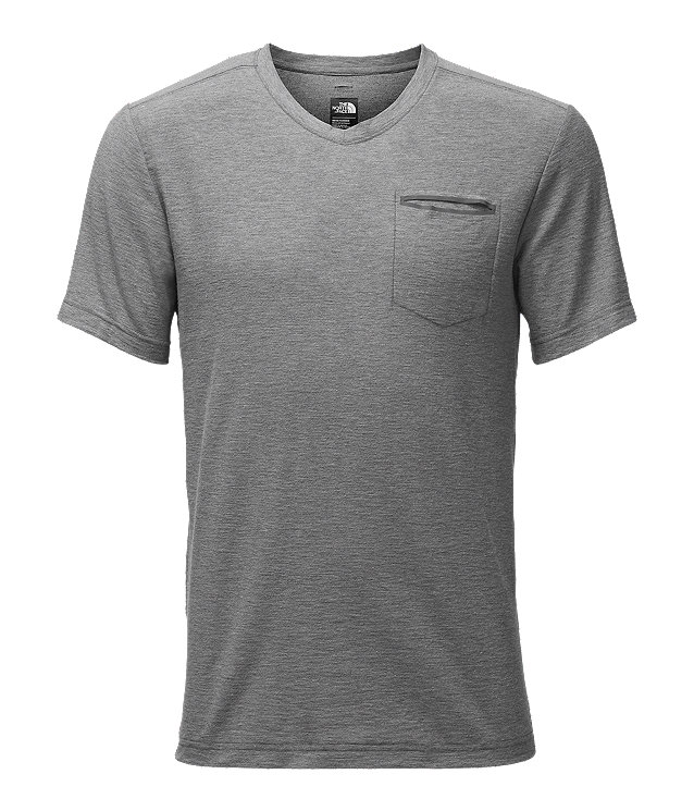 MEN'S SHORT-SLEEVE FLASHDRY™ HEATHER V-NECK