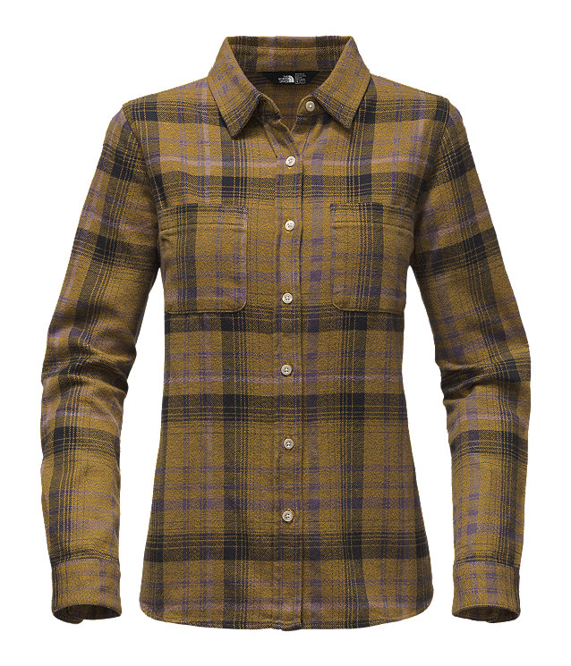WOMEN'S LONG-SLEEVE WILLOW CREEK FLANNEL