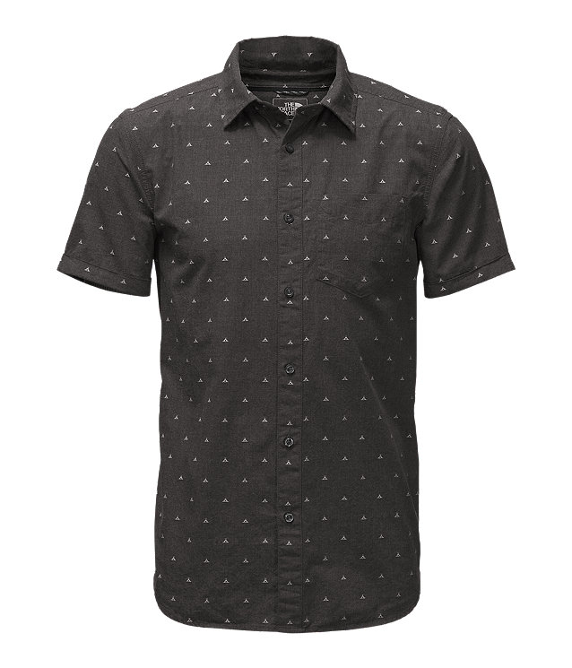 231a59bd6 MEN'S SHORT-SLEEVE BAY TRAIL JACQUARD SHIRT