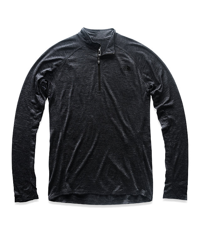 MEN'S WOOL BASELAYER LONG-SLEEVE ZIP NECK