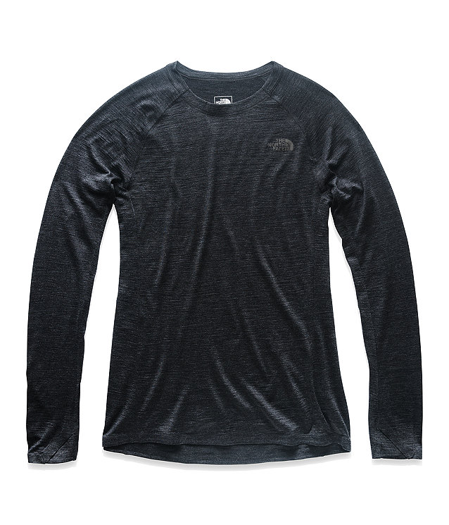 WOMEN'S WOOL BASELAYER LONG-SLEEVE CREW NECK