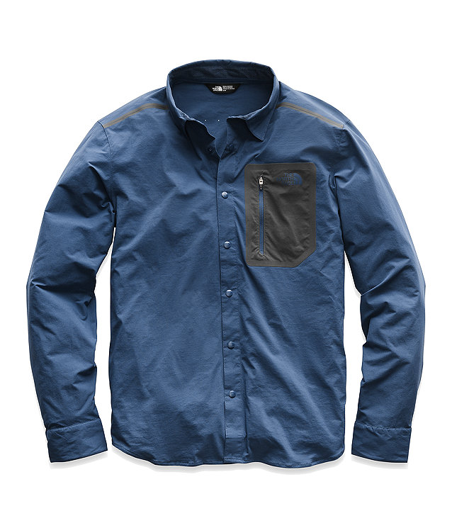 MEN'S ALPENBRO LONG-SLEEVE WOVEN SHIRT