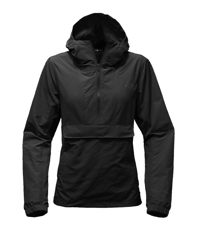 WOMEN'S CREW RUN WIND ANORAK