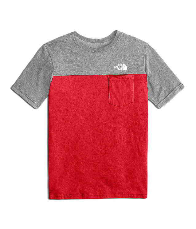 BOYS' TRI-BLEND POCKET TEE