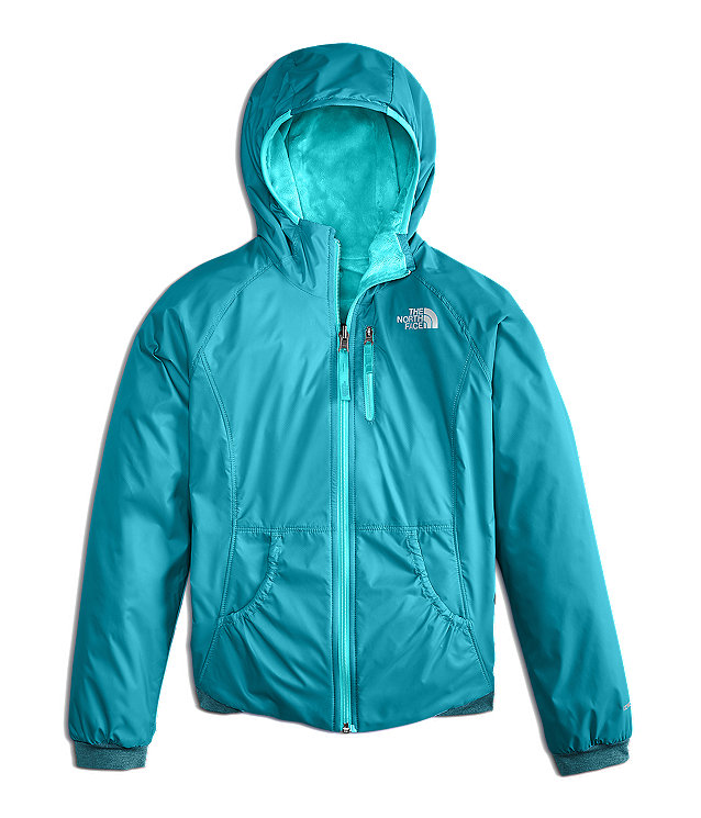 GIRLS' REVERSIBLE BREEZEWAY WIND JACKET