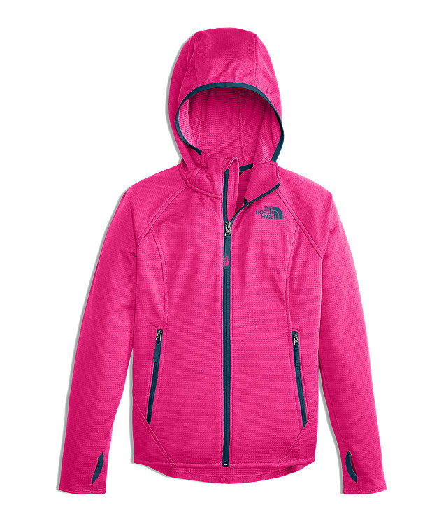 GIRLS' MID CLOUD FLEECE HOODIE