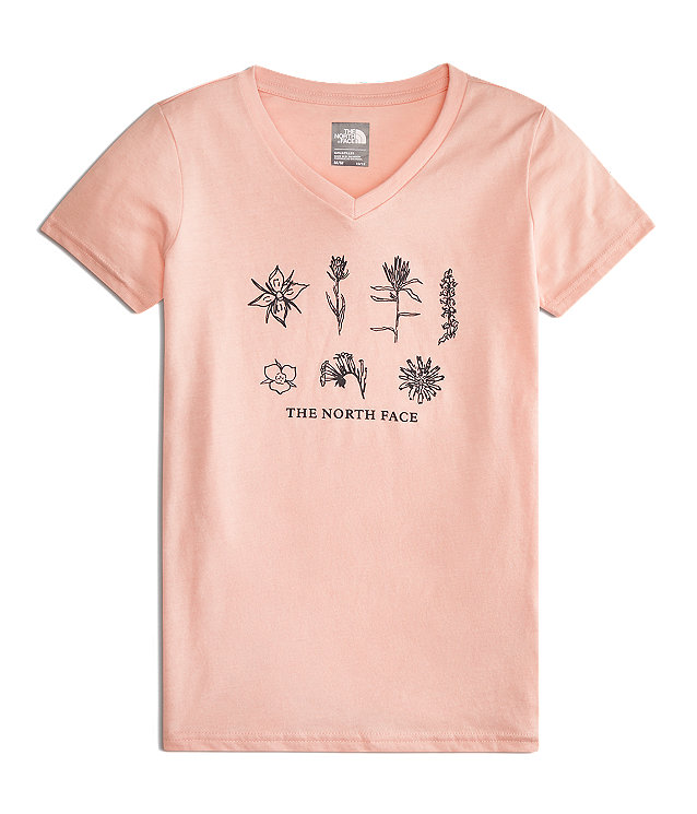 GIRLS' SHORT-SLEEVE BOTTLE SOURCE TEE