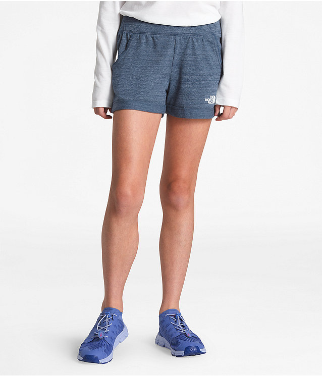 GIRLS' TRI-BLEND SHORTS