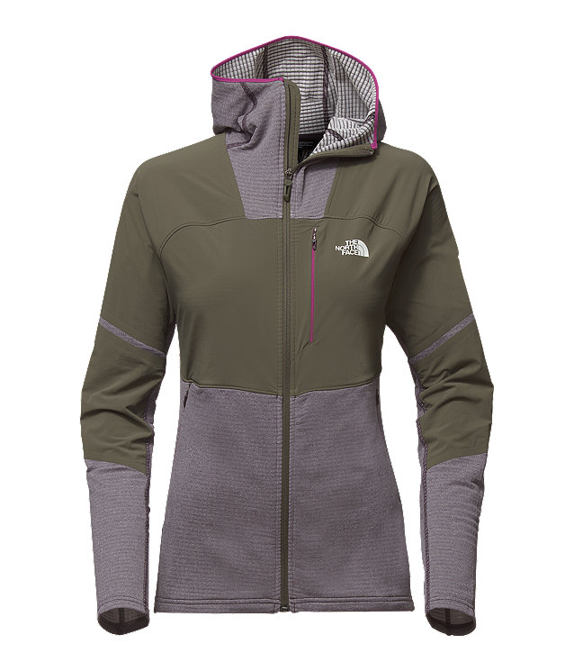 WOMEN'S PROGRESSOR POWER GRID™ FLEECE HOODIE