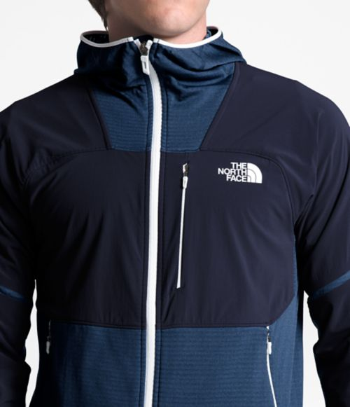 MEN'S PROGRESSOR POWER GRID™ FLEECE HOODIE-