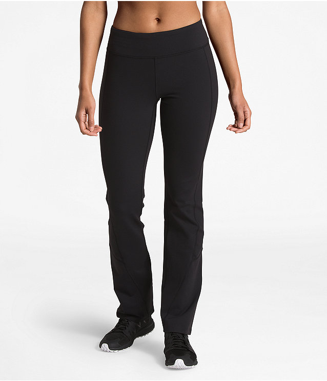 WOMEN'S MOTIVATION MID-RISE STRAIGHT PANTS