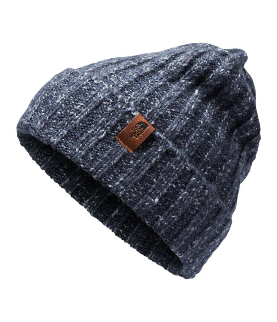 Tuque en tricot côtelé à grosses mailles-