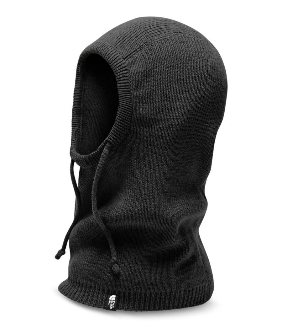 Knit Balaclava Hood-