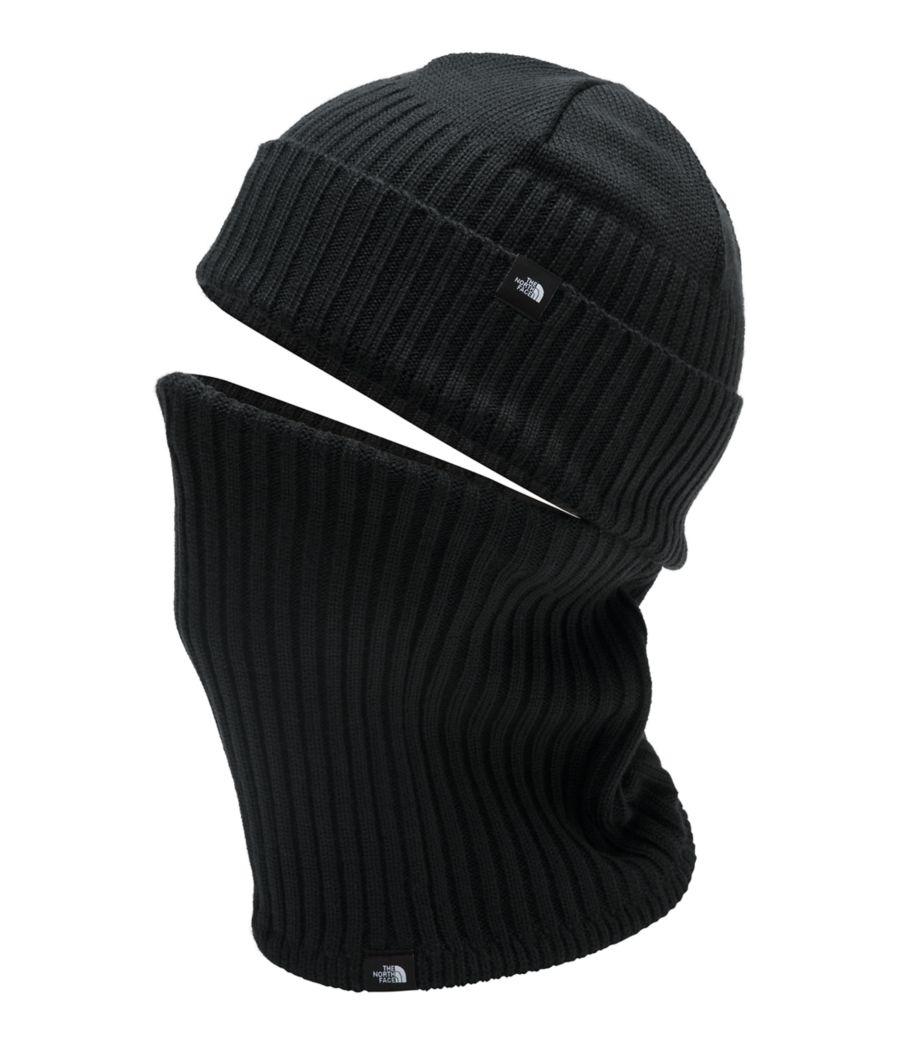 Knit Beanie Gaiter-