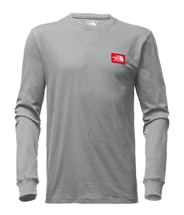 MEN'S LONG-SLEEVE PATCH TEE