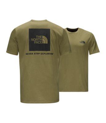 5236dc622 MEN'S TNF SHORT-SLEEVE BOX TEE | United States