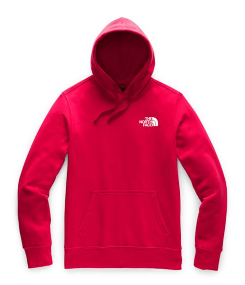MEN'S RED BOX PULLOVER HOODIE-
