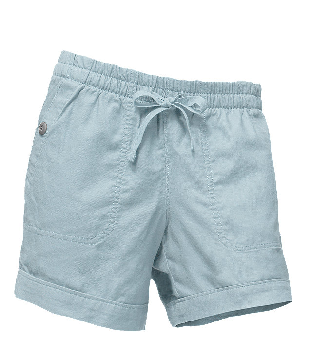 WOMEN'S SANDY SHORES CUFFED SHORTS