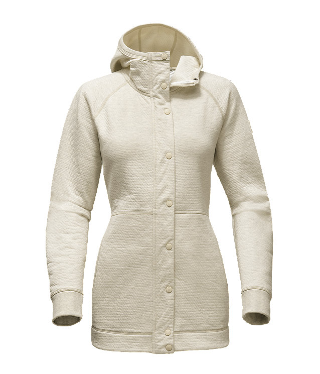 WOMEN'S RE-SOURCE SNAP LONG HOODIE