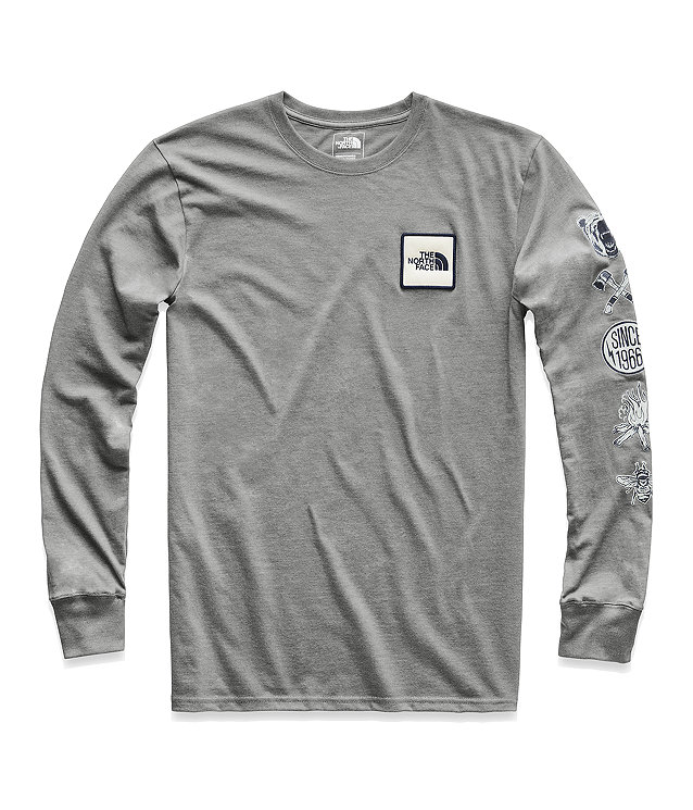 MEN'S LONG-SLEEVE HEAVY WEIGHT PATCHES TEE