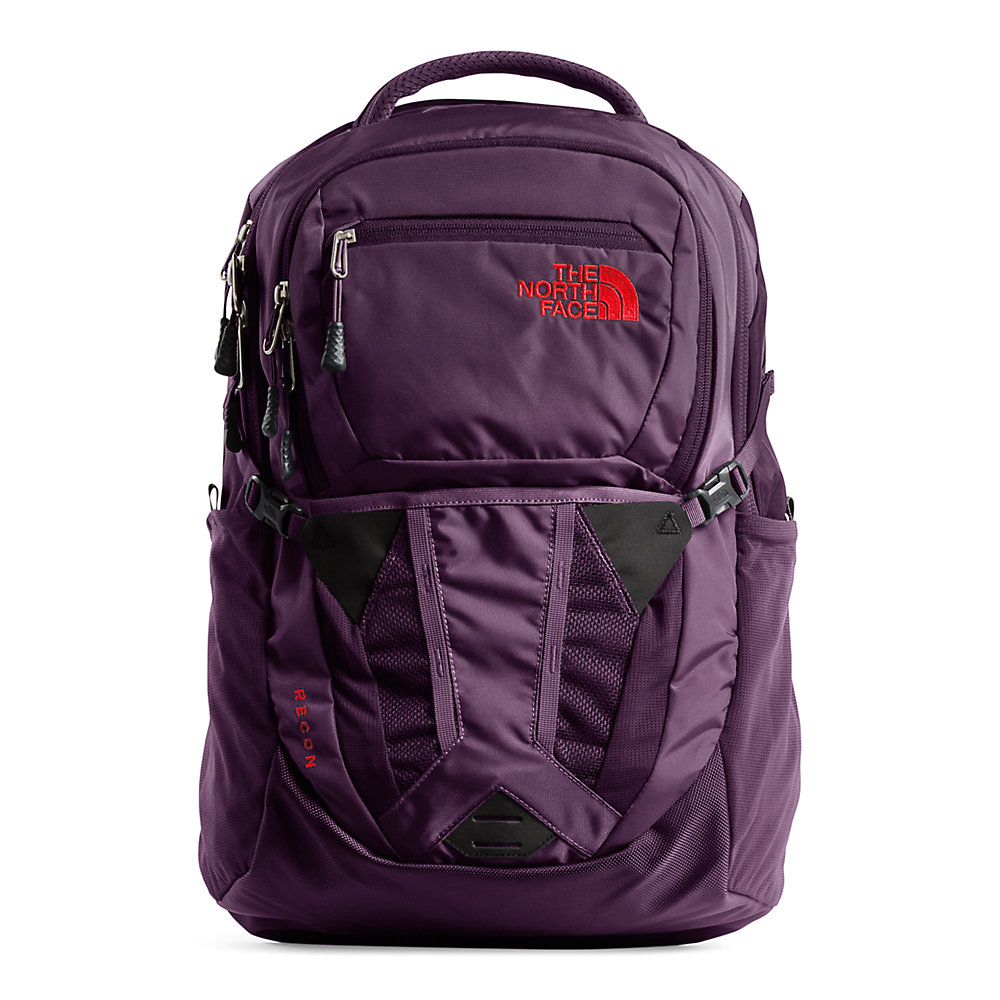 North Face Backpack Rose Gold Zipper Math Action, soutien