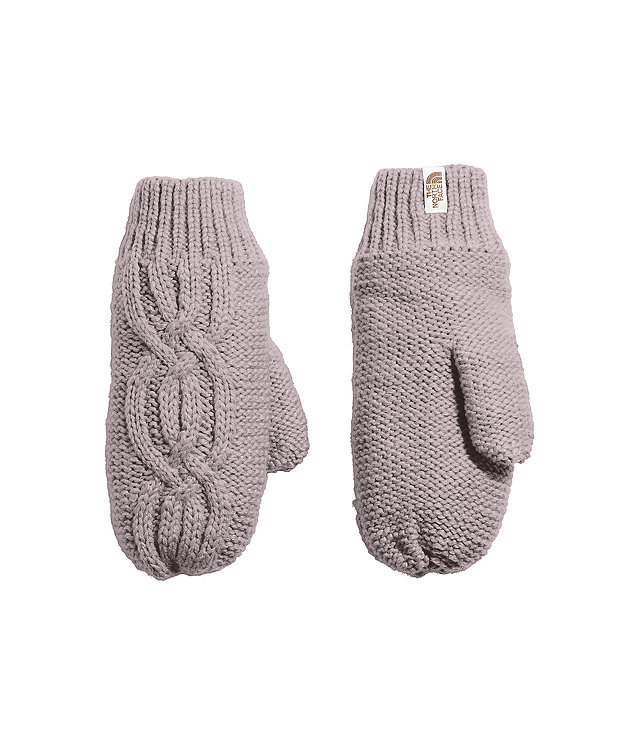 Women's Cable Minna Mitts