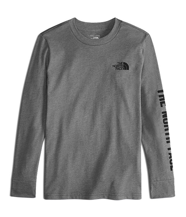 BOYS' LONG-SLEEVE GRAPHIC TEE