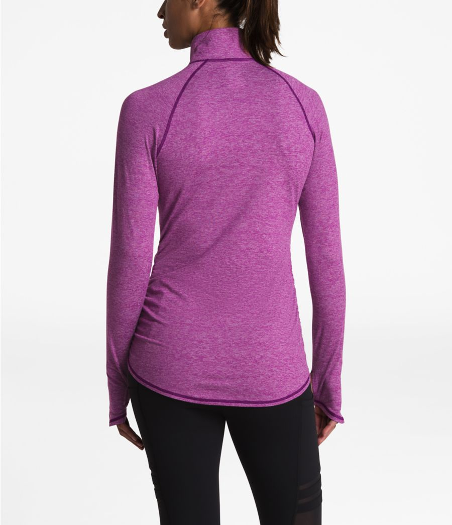 The North Face Womens Motivation Stripe /½ Zip