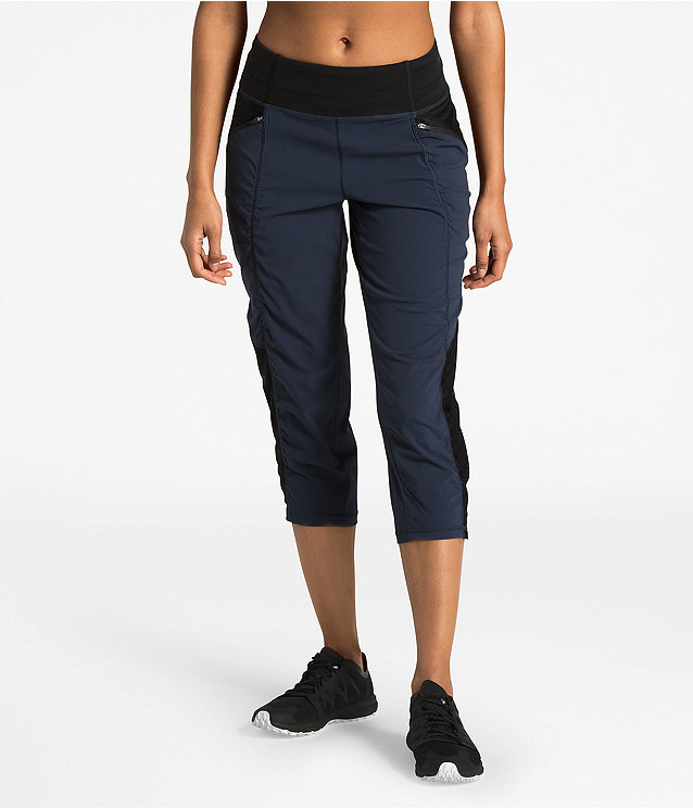 WOMEN'S ON THE GO MID-RISE CROP