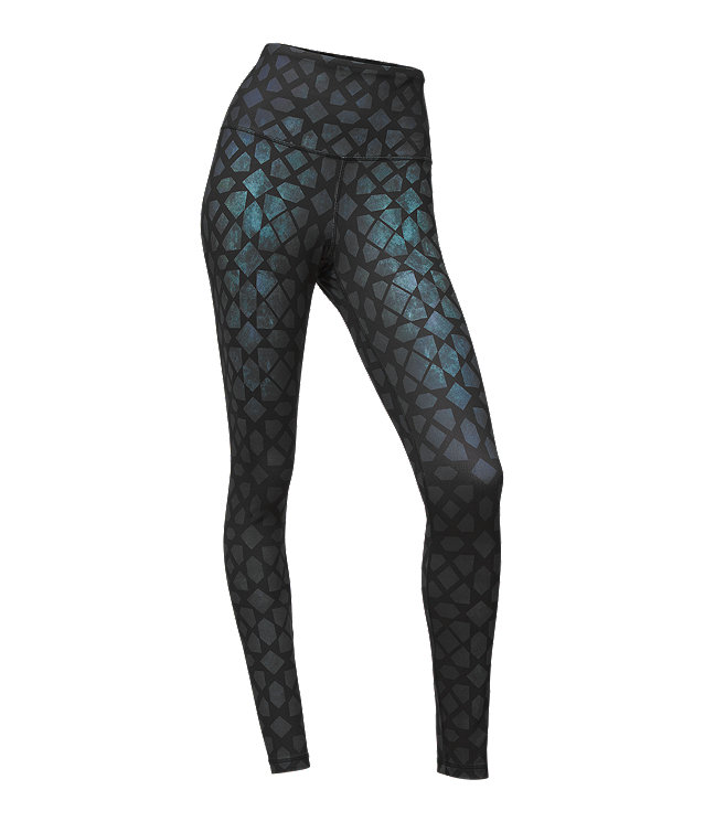 WOMEN'S CONTOURED TECH HIGH-RISE TIGHTS