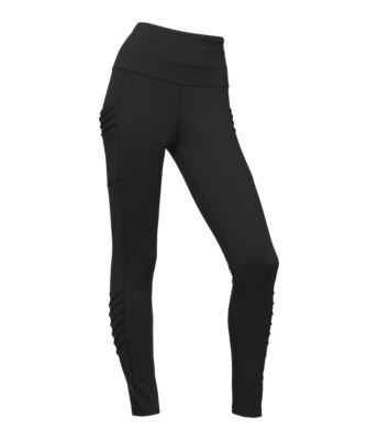 Women's Perfect Core High Rise Moto Tights by The North Face