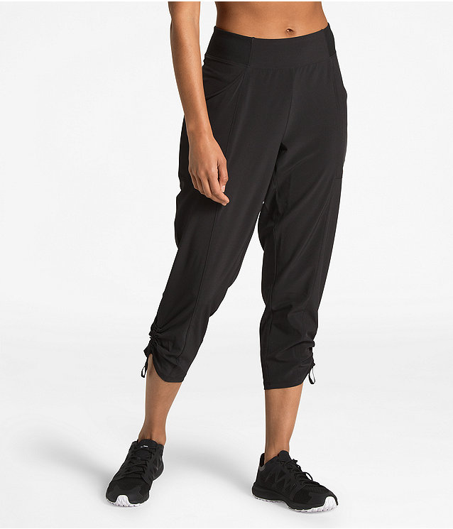 WOMEN'S LET'S GO MID-RISE CROP