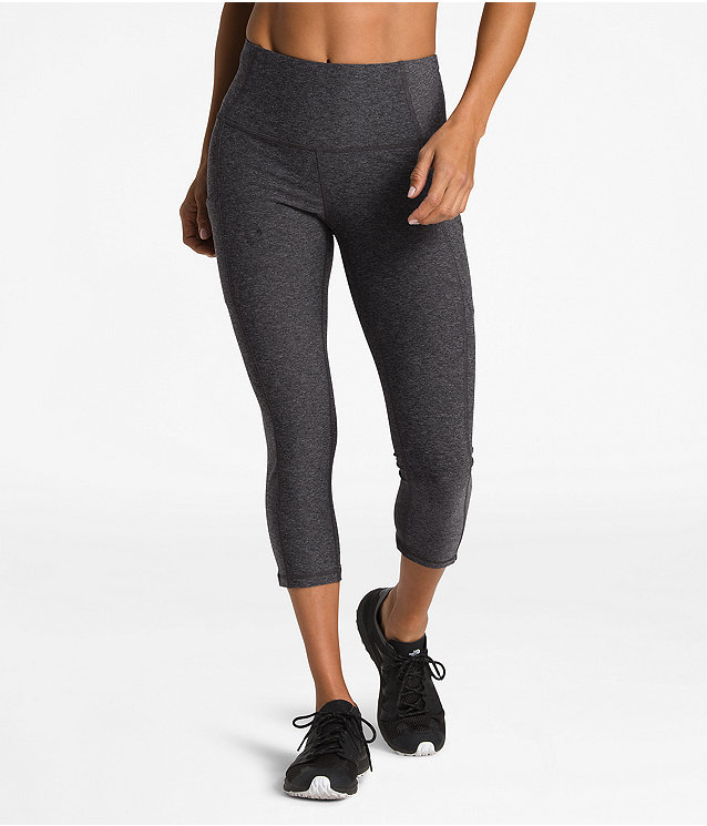 WOMEN'S MOTIVATION HIGH-RISE POCKET CROP