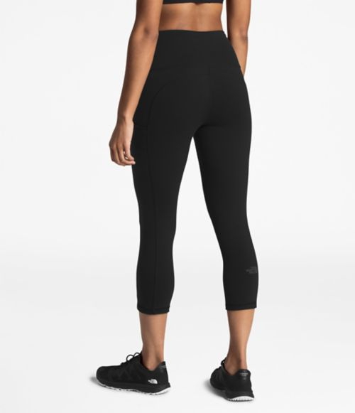 WOMEN'S MOTIVATION HIGH-RISE POCKET CROP-