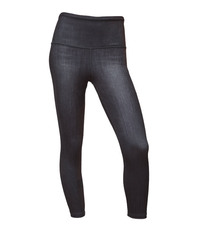 WOMEN'S TNF™ INDIGO HIGH-RISE CROP
