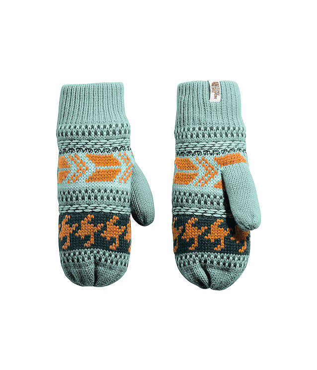 Women's Fair Isle Mitts