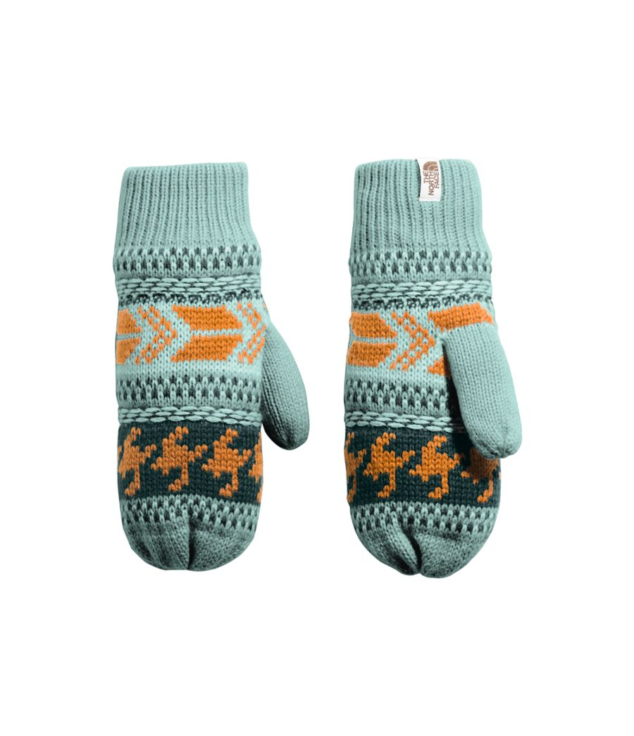 Women's Fair Isle Mitts-