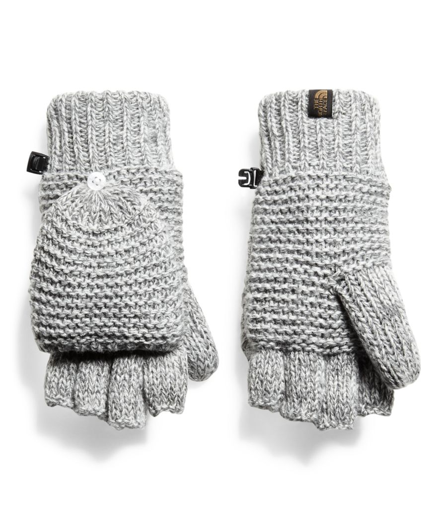 Women's Purrl Stitch Mitts-