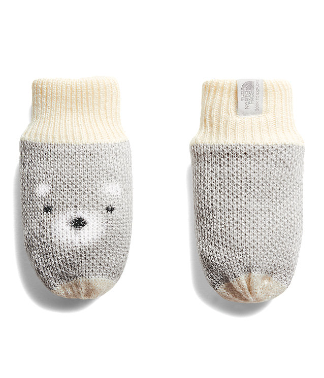 Baby Friendly Faces Mitts