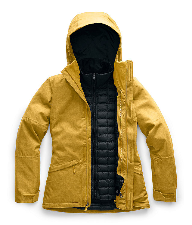 Manteau ThermoBall™ Eco Snow Triclimate® pour femmes