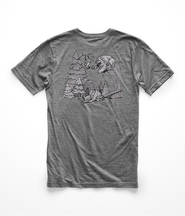 MEN'S SHORT-SLEEVE TRI-BLEND BEAR ACTIVITIES TEE