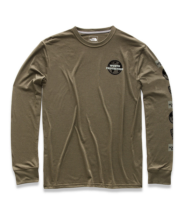 MEN'S LONG-SLEEVE GLOBAL BOTTLE SOURCE TEE