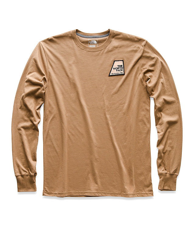 MEN'S LONG-SLEEVE GRAPHIC PATCH TEE