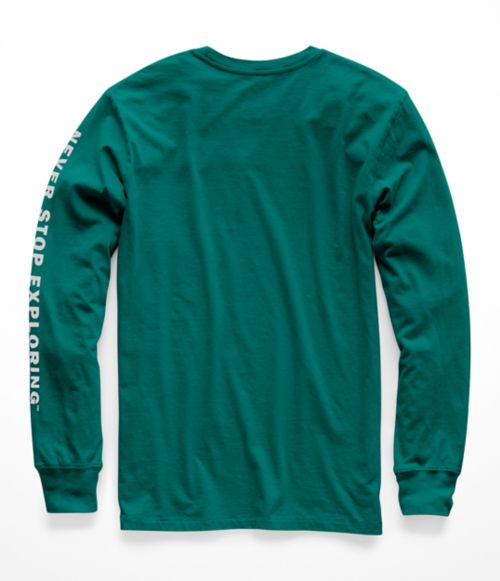 MEN'S LONG-SLEEVE WELL-LOVED HALF DOME TEE-