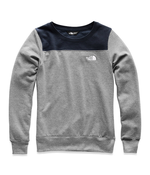 WOMEN'S HALF DOME FLEECE CREW