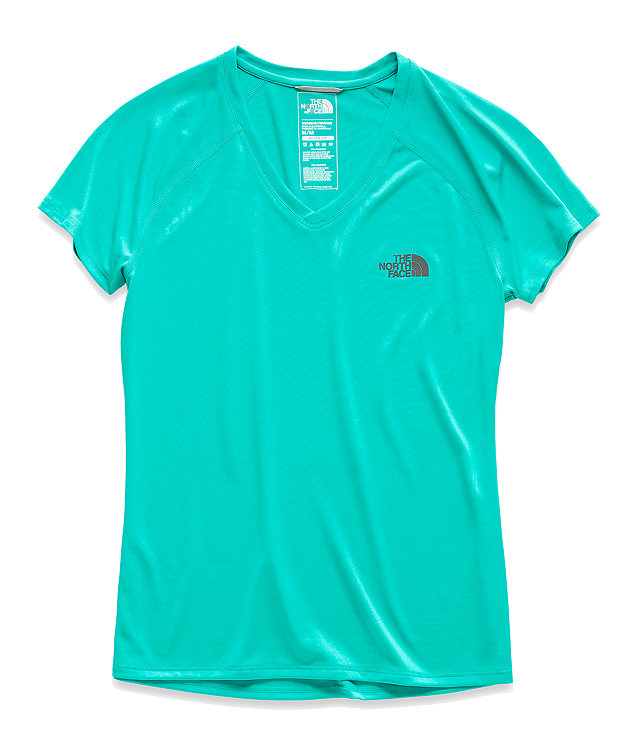 WOMEN'S SHORT-SLEEVE REAXION V-NECK TEE