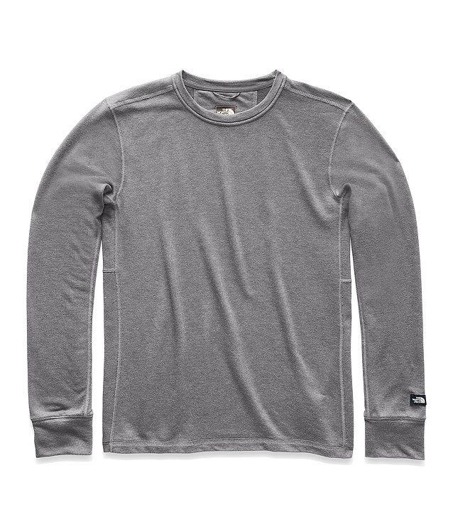 d43d5d32b MEN'S LONG-SLEEVE TNF™ TERRY CREW