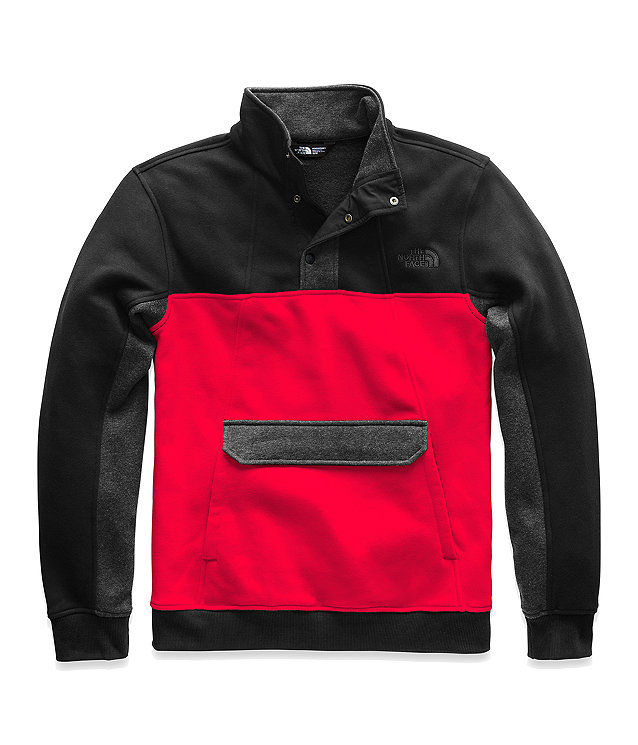 MEN'S ALPHABET CITY FLEECE PULLOVER